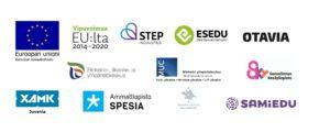 Rahoittajan ja hankeeseen osallisuvien organisaatioiden logot